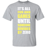 """Divides By Zero"" Ultra Cotton T-Shirt"