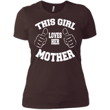 """This Girl Loves Her Mother"" Ladies' Boyfriend T-Shirt"