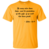 """Ether 12:9"" Ultra Cotton T-Shirt"