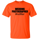 """Wedding Photographer"" Ultra Cotton T-Shirt"