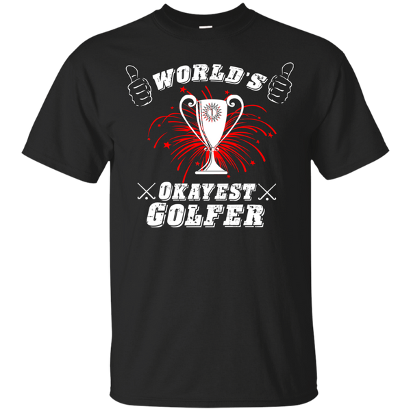 """World's Okayest Golfer"" Ultra Cotton T-Shirt"
