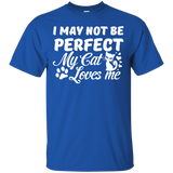 """Cat Loves Me"" Ultra Cotton T-Shirt"