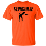 """Rather Play Pool"" Ultra Cotton T-Shirt"