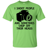 """I Shoot People"" Ultra Cotton T-Shirt"