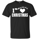 """I Heart Christmas"" Ultra Cotton T-Shirt"