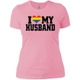 """I Heart My Husband"" Ladies' Boyfriend T-Shirt"