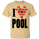 """I Heart Pool"" Ultra Cotton T-Shirt"