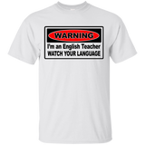 """English Teacher"" Ultra Cotton T-Shirt"
