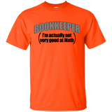 """Bookkeeper"" Ultra Cotton T-Shirt"