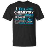 """Bad Chemistry Jokes"" Ultra Cotton T-Shirt"