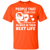 """People That Hate Cats"" Ultra Cotton T-Shirt"