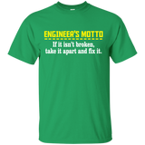 """Engineer's Motto"" Ultra Cotton T-Shirt"