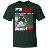 """Ride In The Rain"" Ultra Cotton T-Shirt"