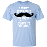 """Mustache"" Ultra Cotton T-Shirt"