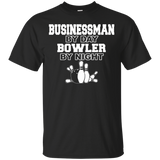 """Bowler By Night"" Ultra Cotton T-Shirt"