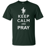 """Keep Calm and Pray"" Ultra Cotton T-Shirt"