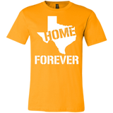 """Texas Home Forever"" Unisex Jersey Short-Sleeve T-Shirt"