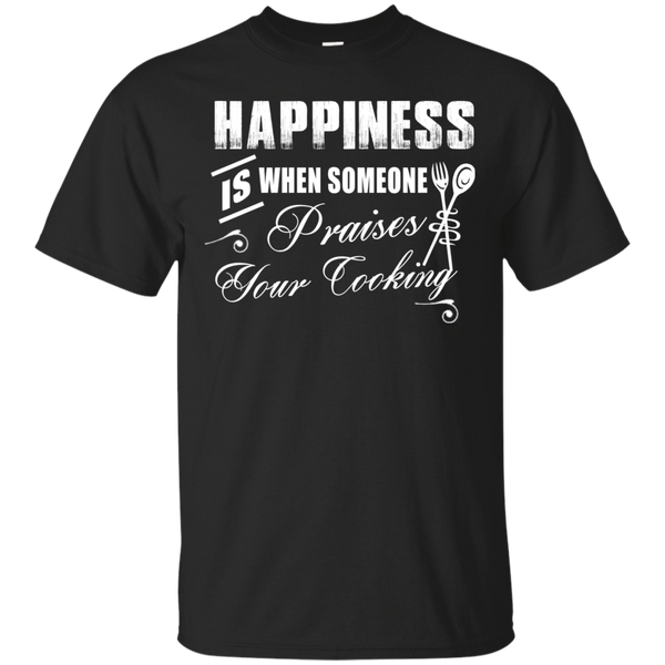 """Cooking Happiness"" Ultra Cotton T-Shirt"