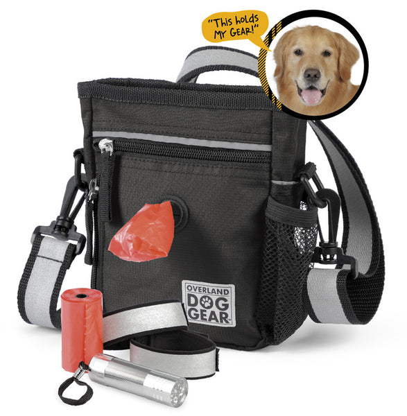 Mobile Dog Gear Day/Night 6 Pc Walking Bag