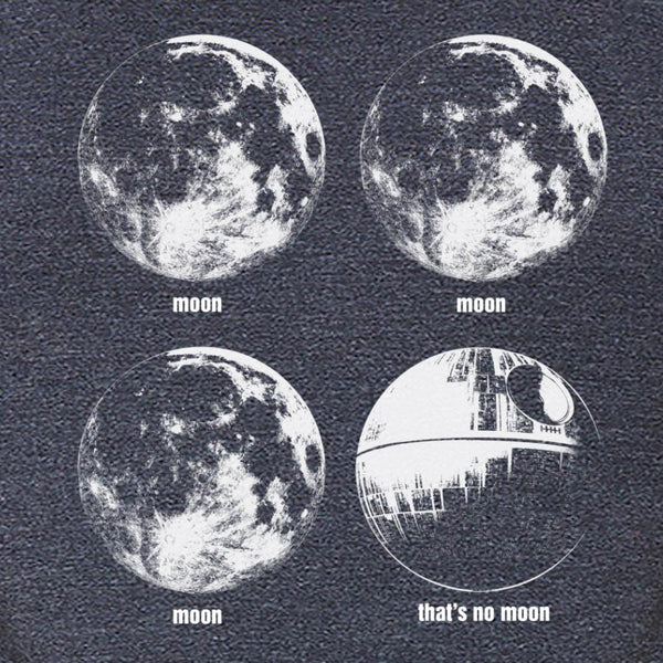 Star Wars: That's No Moon T-shirt