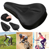 Bicycle Seat with Breathable Gel Pad Cushion Cover