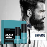 4 Pcs Beard Growth Kit