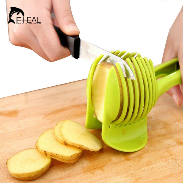 Fruit and Vegetable Holder/Slicer