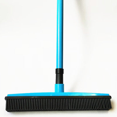 Floor Hair, Dust Scraper & Pet Rubber Brush/Broom