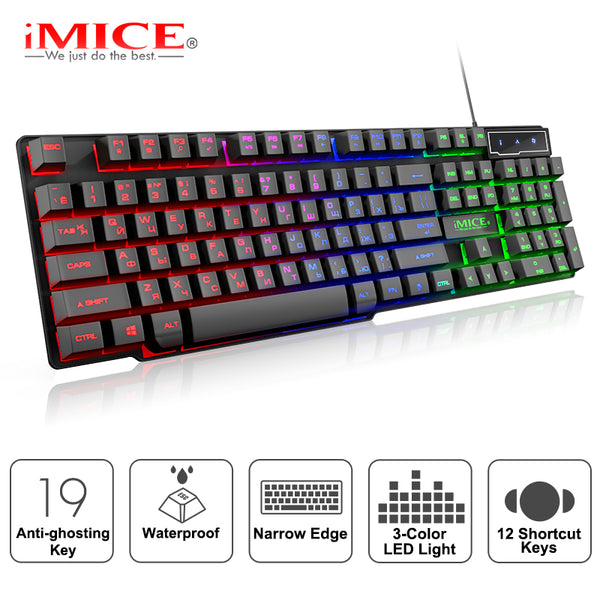 USB Wired Gaming Backlit Keyboard