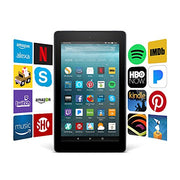 "Kindle Fire 7 Tablet with Alexa, 7"" Display, 8 GB, Black - with Special Offers - Veteran Leaders - Books by Veterans"