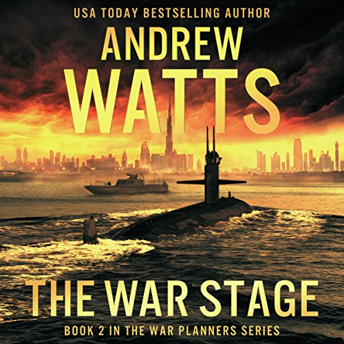THE WAR STAGE  (The War Planners, Book 2)  [audiobook] - Veteran Leaders - Books by Veterans
