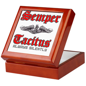 SEMPER TACITUS KEEPSAKE BOX - Veteran Leaders - Books by Veterans