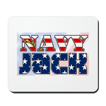 NAVY JACK MOUSEPAD - Veteran Leaders - Books by Veterans