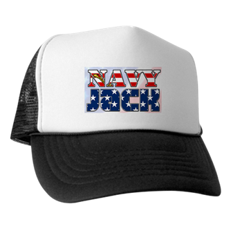 NAVY JACK TRUCKER HAT - Veteran Leaders - Books by Veterans