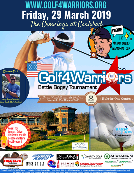 Golf4Warriors Aretanium Team Reservation
