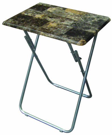#1303 TV Tray Table - Marbleized (Case pack 6 pcs)