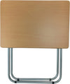 #1305 Over-sized TV Tray Folding Table - Beech (case pack 4 pcs)