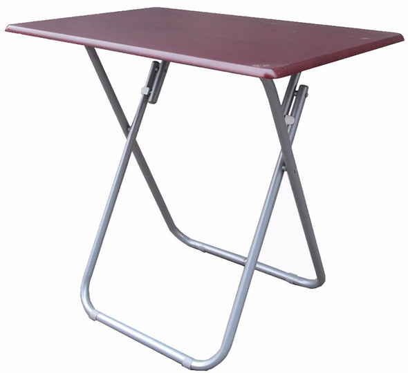 #1306 Over-sized TV Tray Folding Table - Cherry (case pack 4 pcs)
