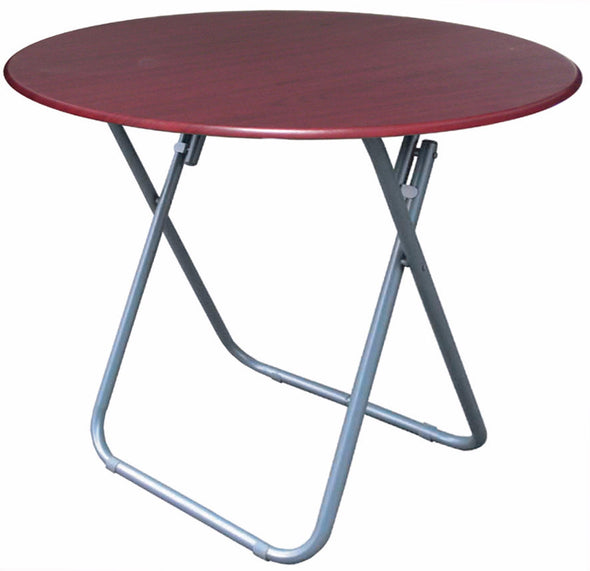 "#1312 Utility 24"" Folding Table - Cherry (case pack 4 pcs)"