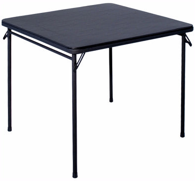 "#1325 Square Table 34"" - Black (case pack 3 pcs)"