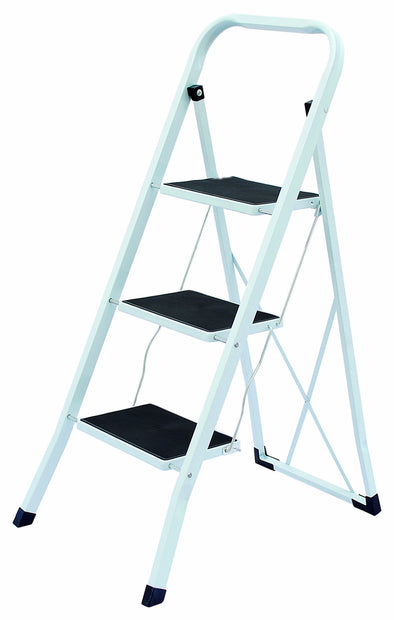 #1525-B Heavy Duty 3 Step Ladder (cuase pack 6 pcs)