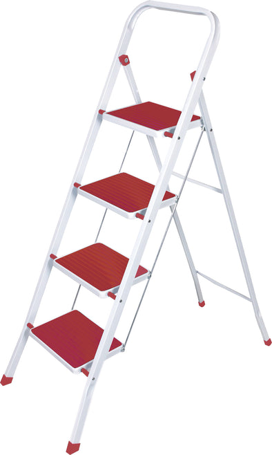 #1526-RD Heavy Duty 4 Step Ladder (case pack 3 pcs)