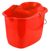 #1642-CL Mop Bucket 15-LT 4 Wheels (case pack 12 pcs)