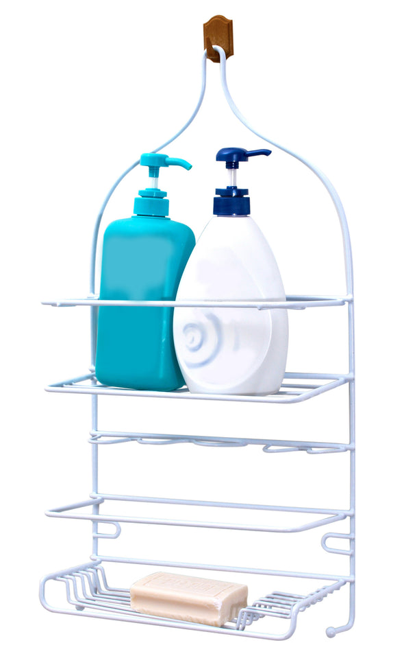 #2116 Shower Caddy White Family Size (case pack 6 pcs)