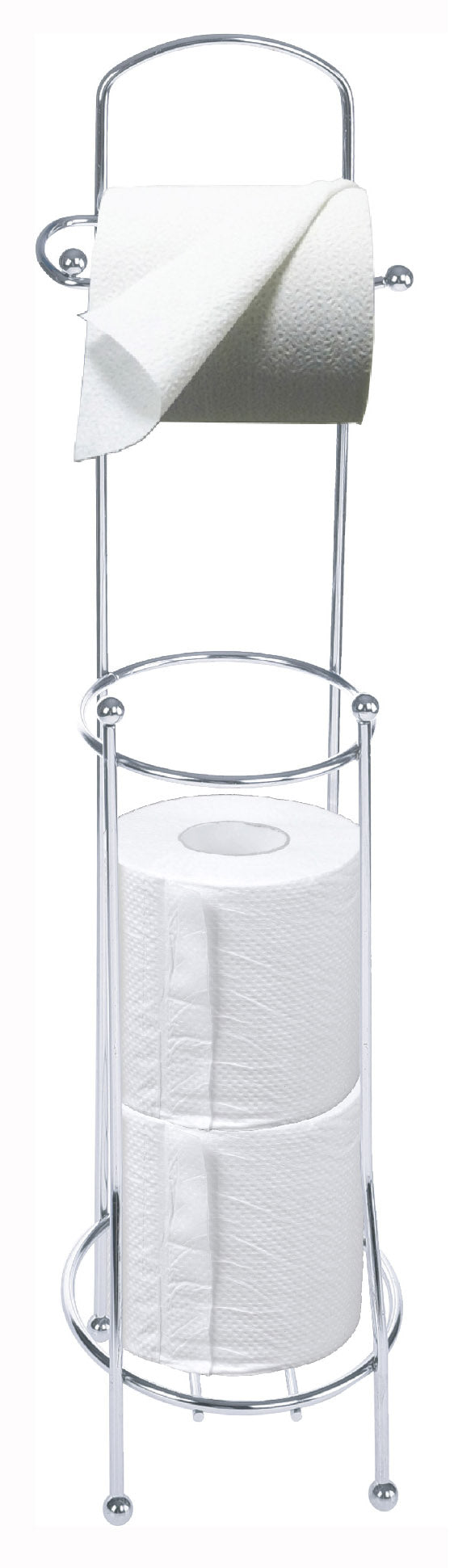 #2134-B Free-standing Toilet Paper Holder & Reserve (case pack 12 pcs)