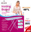 "#2503 Wooden Ironing Board 48""x12"" (case pack 4 pcs)"