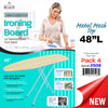 "#2508 Wooden Ironing Board 48""x12"" (case pack 4 pcs)"