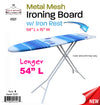 #2527 Metal Mesh Ironing Board (case pack 4 pcs)