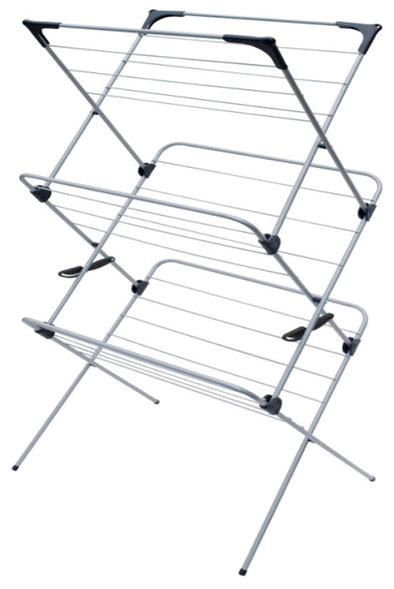 #2605 Foldable 3 Tier Drying Rack (case pack 4 pcs)