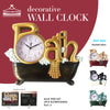 #2800-AST Bath Wall Clock - Assorted Colors (case pack 6 pcs)